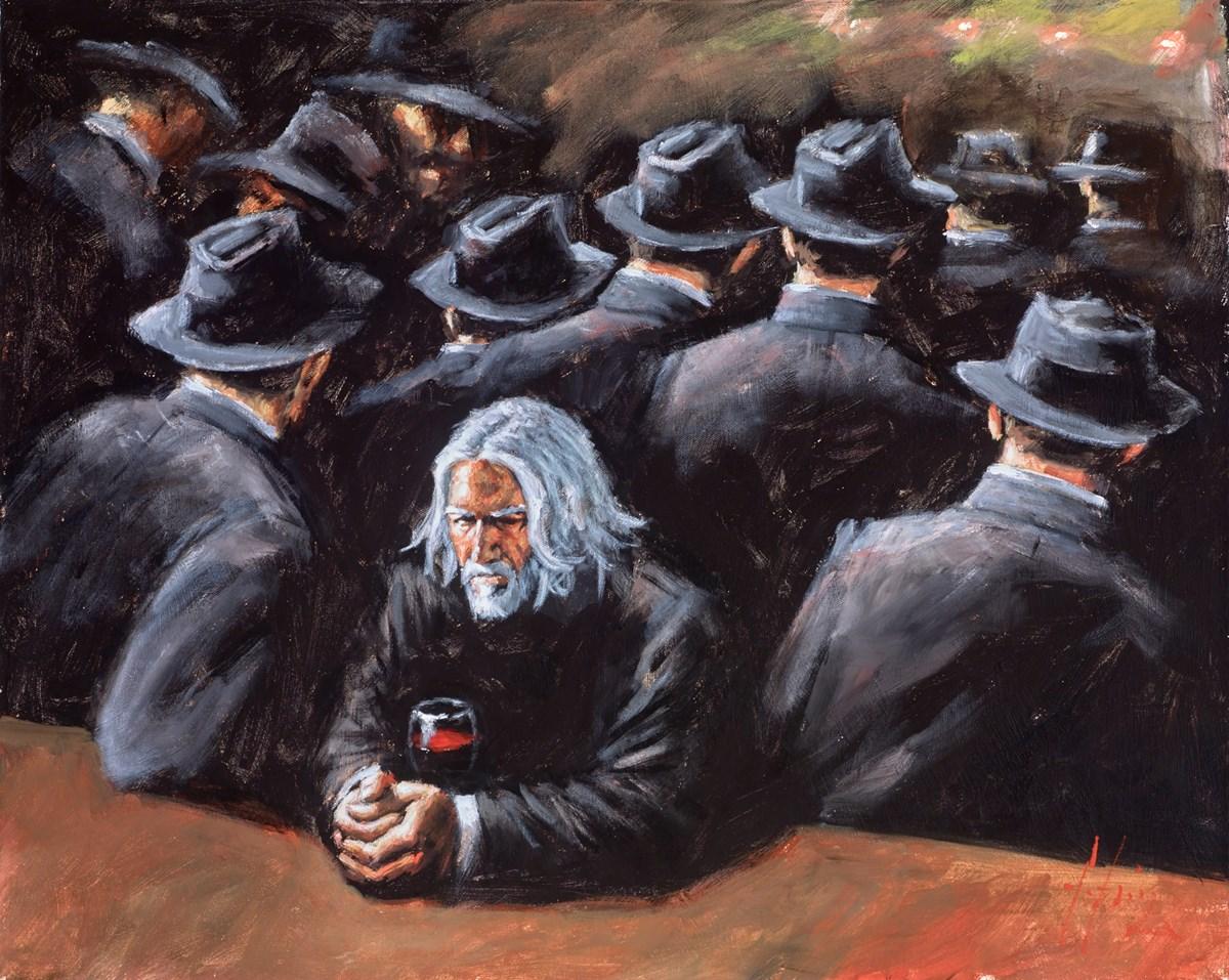 Untitled II (Men in Black Suits)